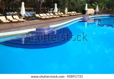 Swimming pool of Sueno Hotels Beach Side 5*