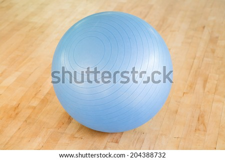 Swiss ball - stock photo