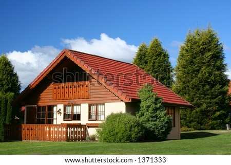 Swiss style house