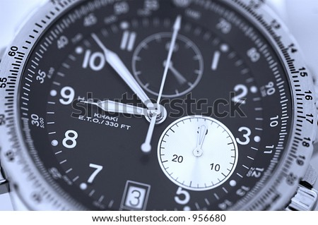 Swiss watch - stock photo