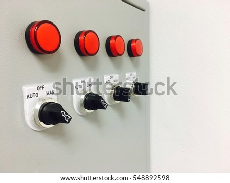 switch buttons on fuse box server stock photo royalty free rh shutterstock com Reset Fuse Mini Fuse