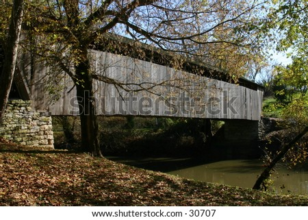 Switzer Bridge - stock photo