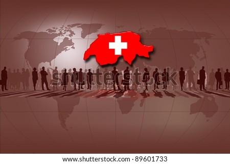 Switzerland - stock photo