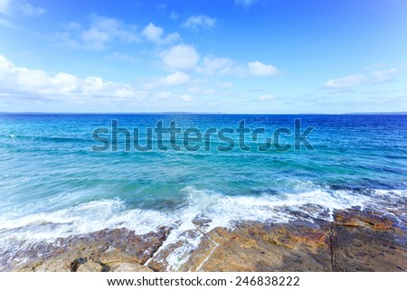 Sydney beach - stock photo