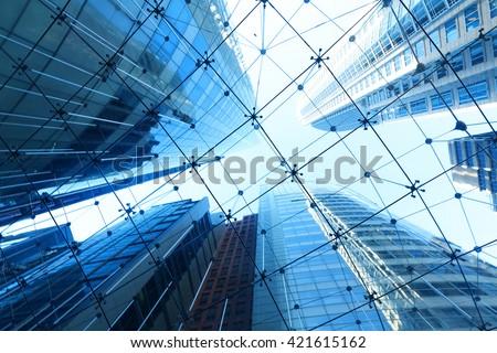 Sydney City modern building - stock photo