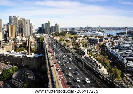 Sydney City View - stock photo
