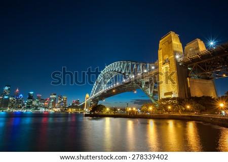 Sydney Habour Bridge - stock photo