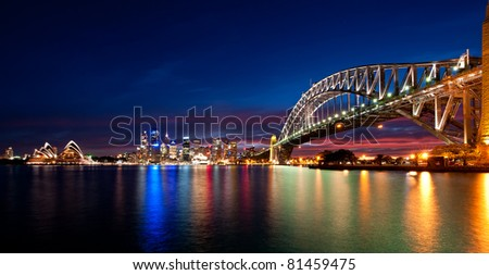 Sydney Harbor - stock photo