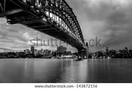 Sydney Harbor Bridge - stock photo