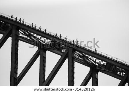 Bridge Silhouette Stock Photos Images Amp Pictures