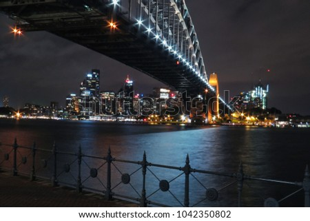 Sydney Harbour Bridge in different angle