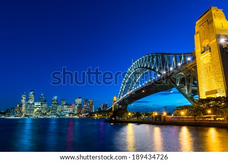 Sydney Harbour Bridge,  Sydney Harbour