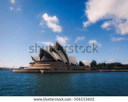 SYDNEY - March 4: Opera House on March 4, 2016 in Sydney, Australia