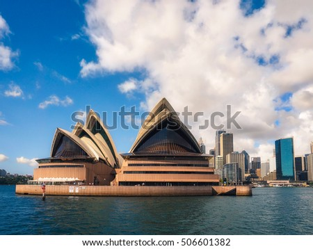 SYDNEY - March 4, 2016: Opera House on March 4, 2016 in Sydney, Australia.