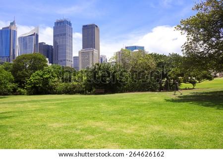 Sydney modern city - stock photo