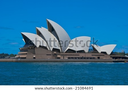 SYDNEY, November 11, 2008: The Sydney Opera House, NSW, Australia