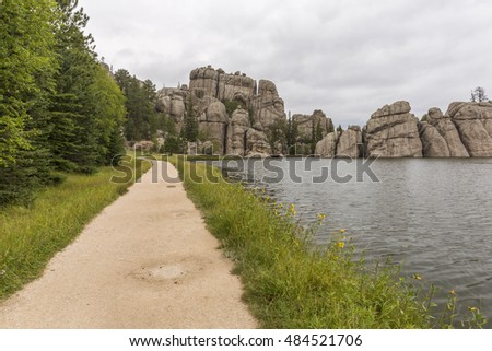 Sylvan Lake Scenic Trail