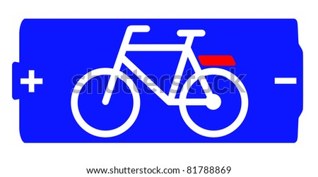 Symbol for electric-assist bicycle (e-bike)
