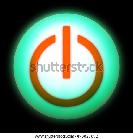 Symbol Onoff Switch Electrical Equipment Stock Illustration