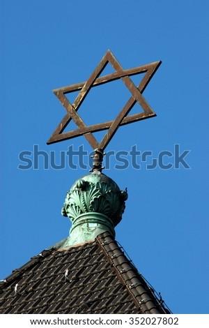symbol of judaism - stock photo