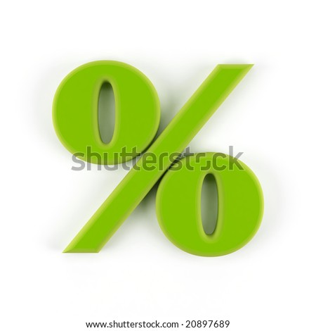 Symbol of rate on white background. - stock photo