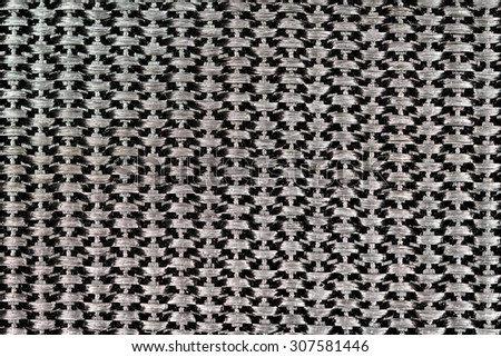 Synthetic nylon fabric texture closeup photo background.