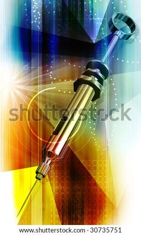 Syringe - stock photo