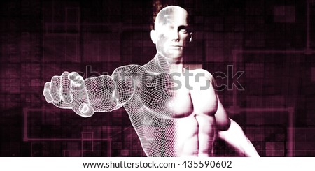 System Administrator for a or Network Server as Concept 3d Illustration Render - stock photo