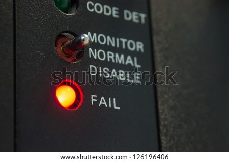 System Fail Situation - stock photo