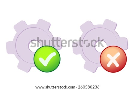 System preferences - stock photo