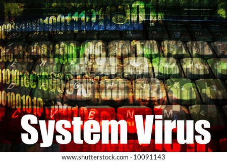 System Virus Message Technology Background