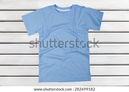 T-Shirt, Shirt, Clothing. - stock photo