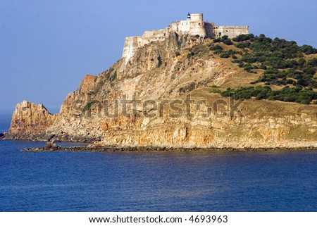 Tabarka, the Genoese Fort built in the 16th century