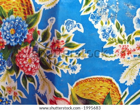 Table cover - stock photo