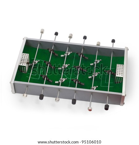 table football game isolated - stock photo