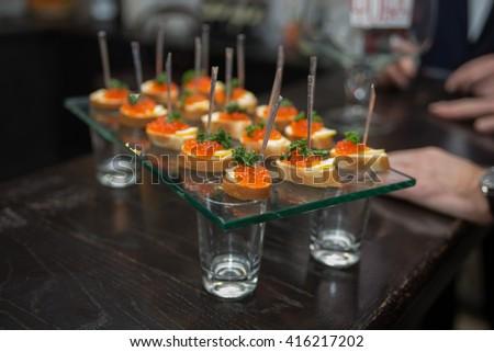 Table for restaurant - stock photo