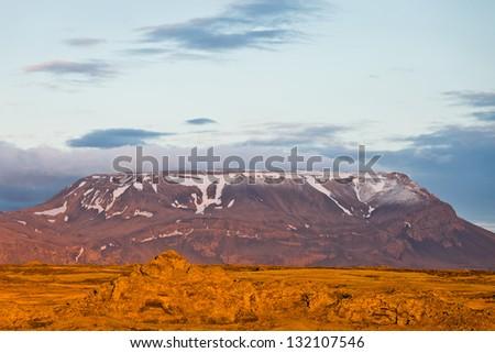 Table mountain - stock photo