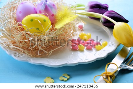 Table set - stock photo