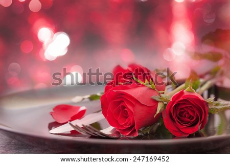 lập bảng cho Ngày Valentine