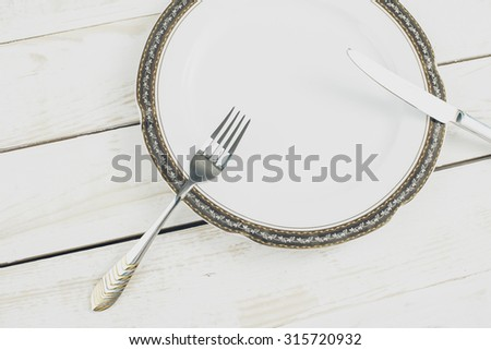 Table setting, utensil