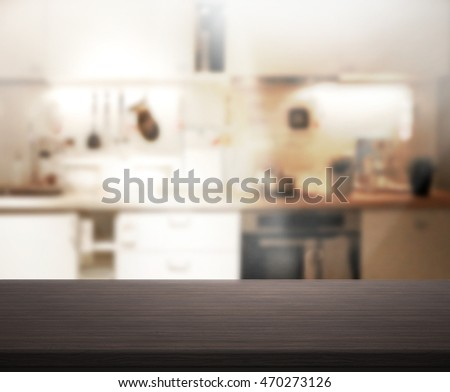 Kitchen Table Top Background granite table top blur modern kitchen stock photo 324249026
