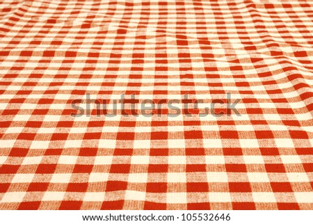 Tablecloth - stock photo
