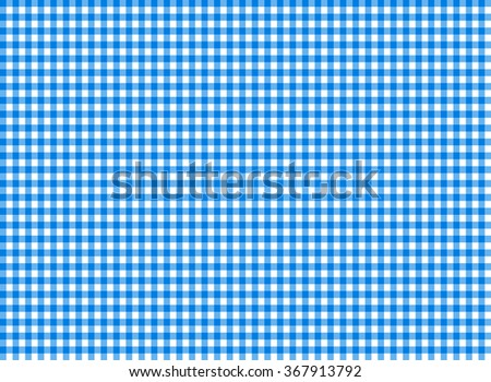 Tablecloth seamless pattern blue illustration