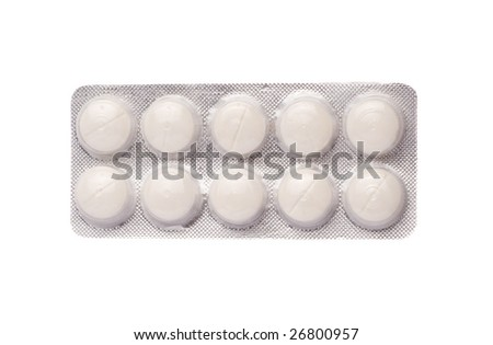 Tablet Blister of Pills