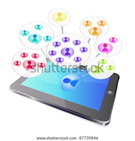 tablet social group