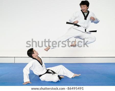 Taekwondo - IE050-008 - stock photo