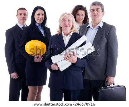 taem of success business peoples - stock photo