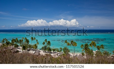 Tahiti Blue Waters and Beach