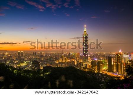 Taipei - stock photo
