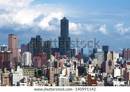 Taiwan - Kaohsiung city and building